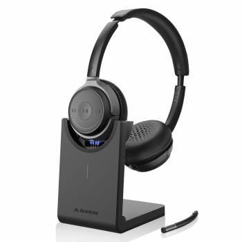 Alto Clair Bluetooth 5.0 On Ear Headphones, High Definition Sound, Detachable Microphone