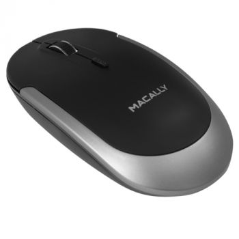 Bluetooth optical quiet click mouse - Space gray/Black