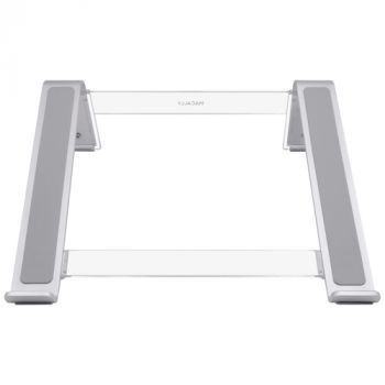 Adjustable MacBook/notebook stand - Silver