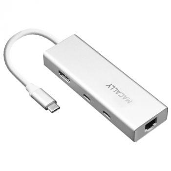 USB-C mini dock (USB-A/C, HDMI, Ethernet)