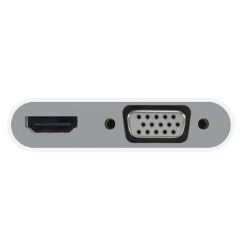 USB-C to VGA + HDMI 4K Adapter