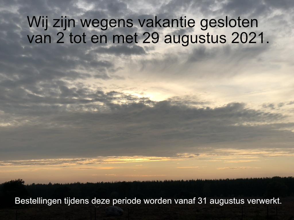 Vakantiesluiting 2021